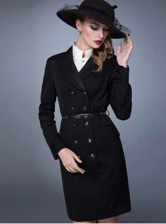 时尚女大衣
